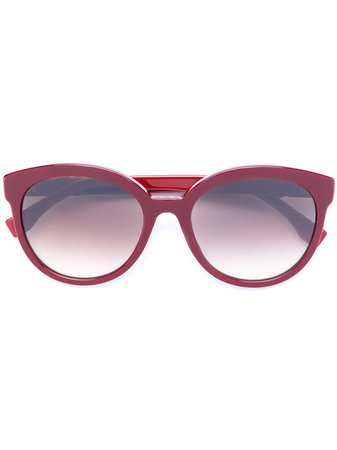 Fendi Eyewear Round Frame Sunglasses - Farfetch