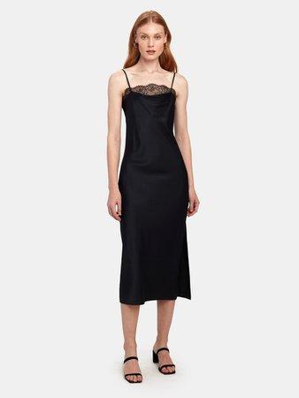 Cami NYC The Romy Silk Charmeuse Midi Dress | Verishop