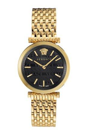 Versace V Twist Bracelet Watch, 36mm | Nordstrom