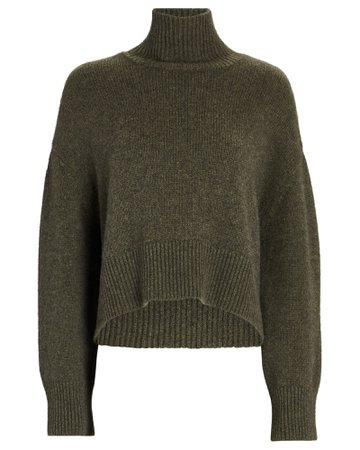 Anine Bing Camilia Cashmere Turtleneck Sweater | INTERMIX®