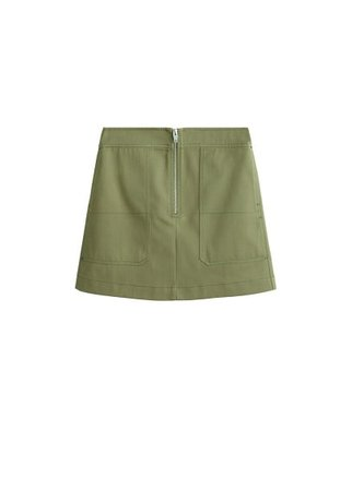 MANGO Pocket miniskirt