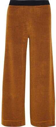 Chenille Wide-leg Pants