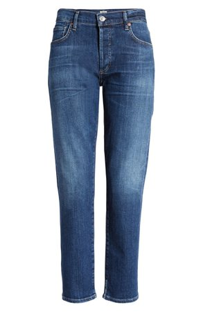 Citizens of Humanity Emerson Crop Slim Fit Boyfriend Jeans (Next to You) | Nordstrom