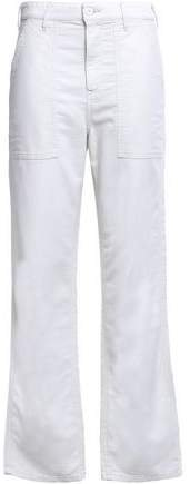 Cotton Straight-leg Pants