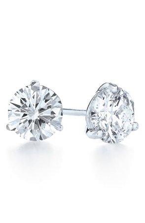 Kwiat 2.10ct tw Diamond & Platinum Stud Earrings | Nordstrom