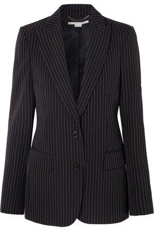 Stella McCartney | Pinstriped wool-twill blazer | NET-A-PORTER.COM