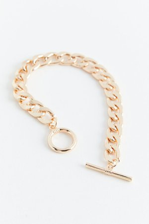 Curb Chain Toggle Bracelet | Urban Outfitters