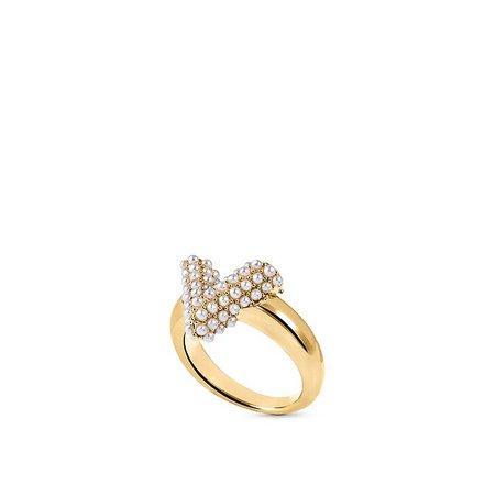 Essential V Perle Ring - Accessories   LOUIS VUITTON
