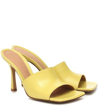 Bottega Veneta Stretch Leather Sandals -    Mytheresa