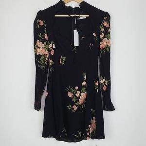 Reformation Dresses | Reformation Vivianne Floral Mini Dress Crystal 4 | Poshmark