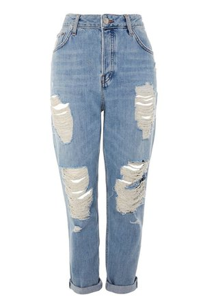 Bleach Super Ripped Hayden Jeans | Topshop