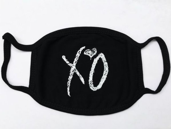 The Weeknd XO Face Mask! Printed Festival Dust Mask | eBay