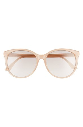 Gucci 56mm Round Sunglasses | Nordstrom