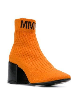 Mm6 Maison Margiela Flare Sock Boots - Farfetch