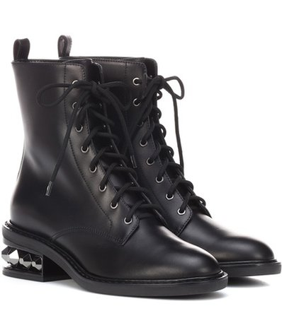 Suzi leather ankle boots