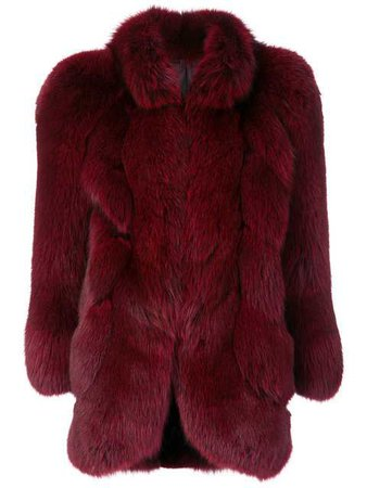 Christian Dior Vintage Fox Fur Coat - Farfetch