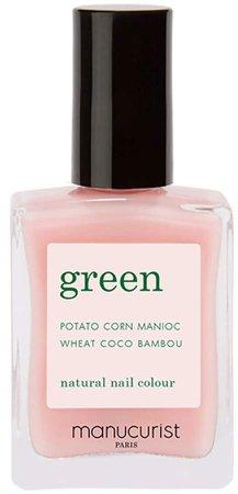 Green Nail Lacquer - Hortencia