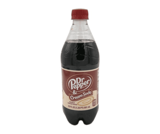 *clipped by @luci-her* Dr. Pepper & Cream Soda