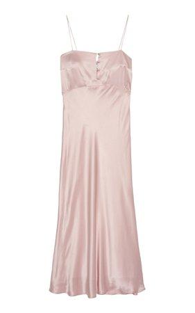 Florence Satin Silk Slip Dress by Bernadette Antwerp | Moda Operandi