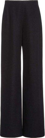 The Row Roger Wide-Leg Cashmere Pants