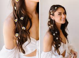 hair with flowers - Búsqueda de Google