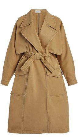 ARJE Monique Cotton-Blend Trench Coat