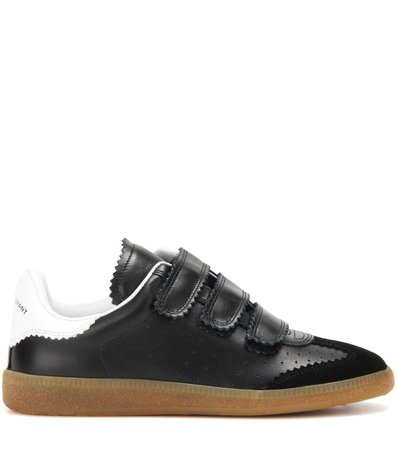 Beth Leather And Suede Sneakers | Isabel Marant - Mytheresa