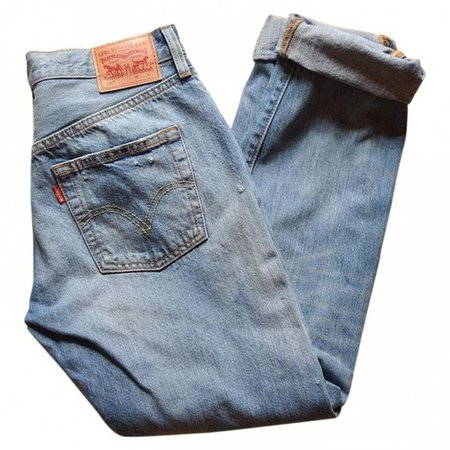 Blue Cotton Jeans LEVI'S