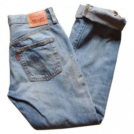 Blue Cotton Jeans LEVI'S