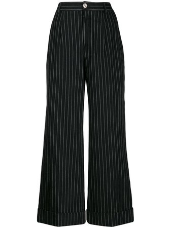 Chanel Pre-Owned 2010 pinstriped trousers