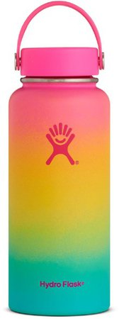 Hydro Flask Flamingo Shave Ice Wide-Mouth Vacuum Water Bottle - 32 fl. oz. | REI Co-op