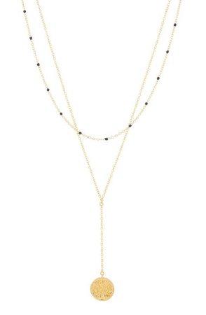 gorjana Milano Coin Layered Necklace | Nordstrom
