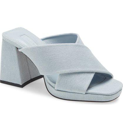Topshop Spice Platform Slide Sandal (Women) | Nordstrom