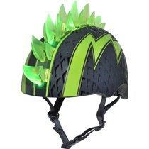 Raskullz Bolt LED Green Bike Helmet, Child 5+ (50-54cm) - Walmart.com