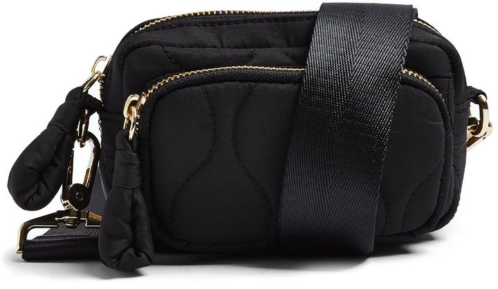 Micro Quilted Crossbody Bag