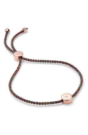 Monica Vinader Linear Solo Diamond Friendship Bracelet | Nordstrom