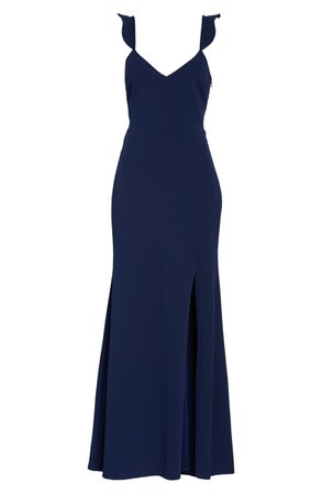 WAYF The Mina Ruffle Strap Gown | Nordstrom