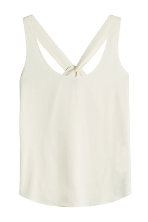 Bintilra Sleeveless Top with Knotted Back Gr. XS