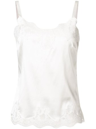 Dolce & Gabbana Lace Trim Top | Farfetch.com