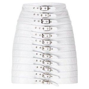 White Belt Skirt