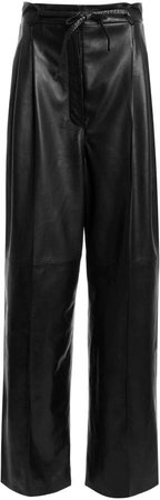 Tom Ford Wide-Leg Leather Pants