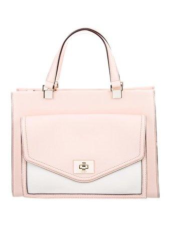 Kate Spade New York Chantelle Walter Place Satchel - Handbags - WKA104429 | The RealReal