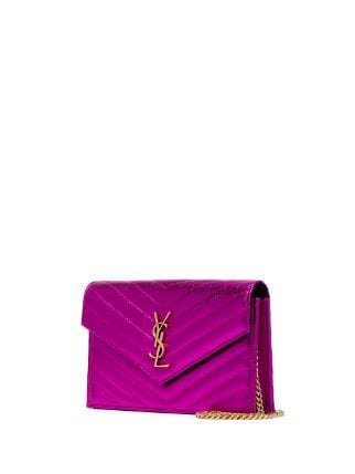 Saint Laurent Mini Envelope Clutch - Farfetch