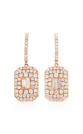 Shay 18K Gold Diamond Earrings