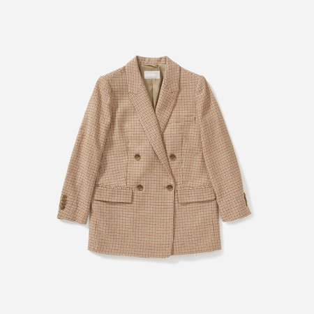 Women's Oversized Double-Breasted Blazer | Everlane pink
