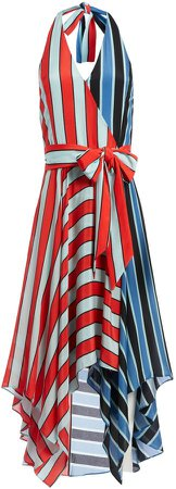 Canton Handkerchief Halter Dress