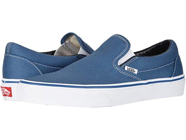 Vans Classic Slip-On™ Core Classics blue   Zappos.com