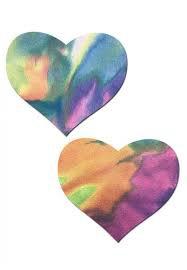 tie dye heart - Google Search