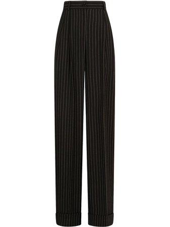 Dolce & Gabbana Pinstripe straight-leg Trousers - Farfetch