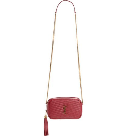 Saint Laurent Mini Lou Quilted Leather Crossbody Bag   Nordstrom